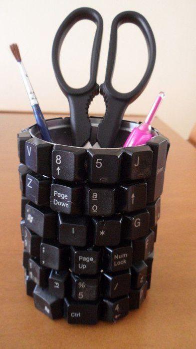 Поделки своими руками из кнопок от клавиатуры