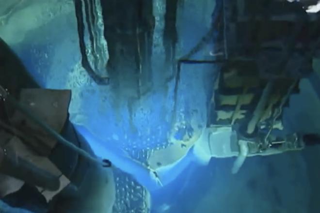 Как выглядит запуск ядерного реактора