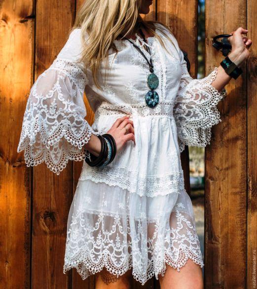 На пике популярности — невесомая летняя одежда в стиле бохо для настоящих модниц