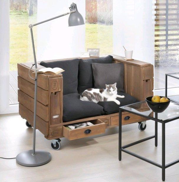 Кресло из палет (Diy)