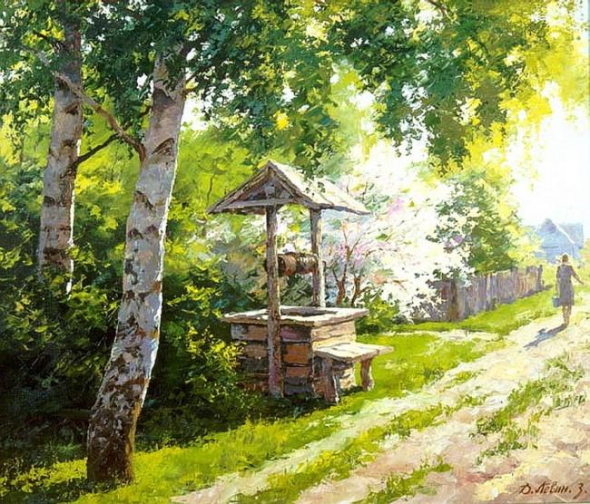 Лето в живописи