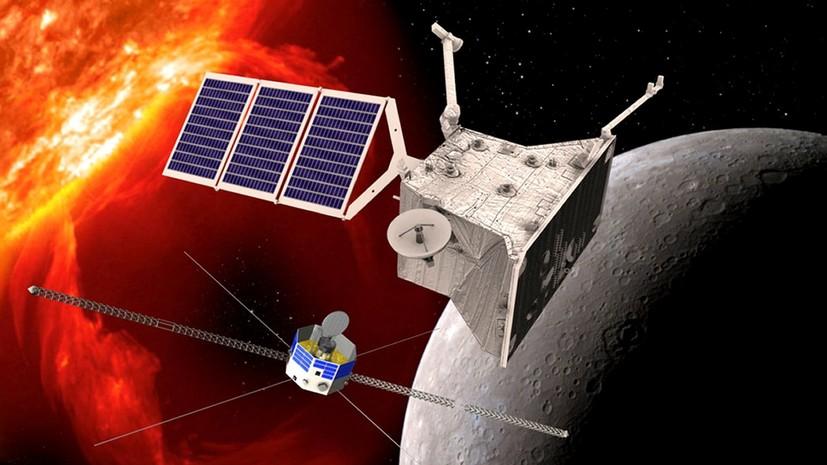 «В самое жерло огненной печи»: станция BepiColombo начала семилетний полёт к Меркурию