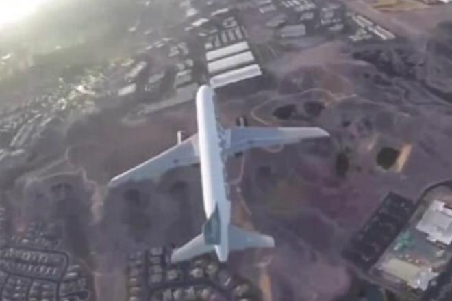 Беспилотник чуть не врезался в пассажирский лайнер над Лас-Вегасом. 134 человека могли погибнуть из-за глупой шутки