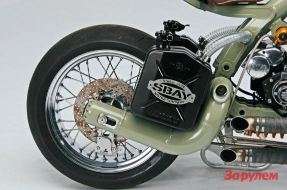 Бензобаки для мотоциклов своими руками