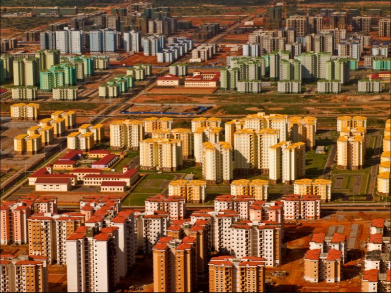 4. Киламба, Ангола город-призрак, застройка, китай