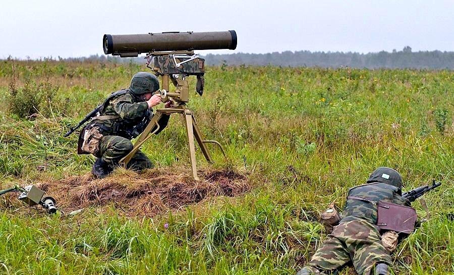 В ДНР карателей заставили притихнуть при помощи ПТУР
