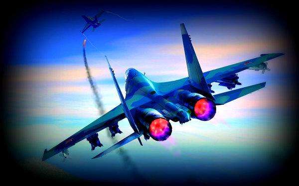 Как наш летчик НАТОвцам нерв…