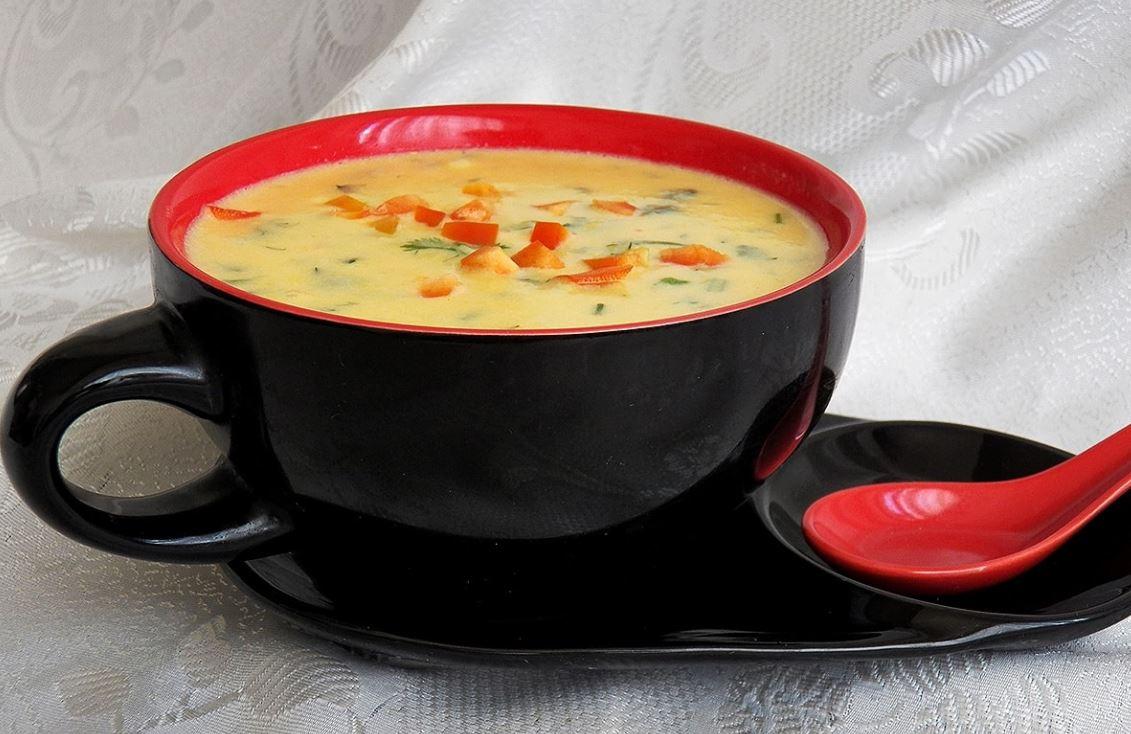 Суп-пюре из свежей кукурузы