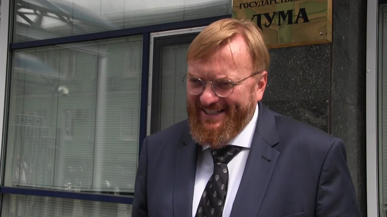 Милонов: санкции Литвы не на…
