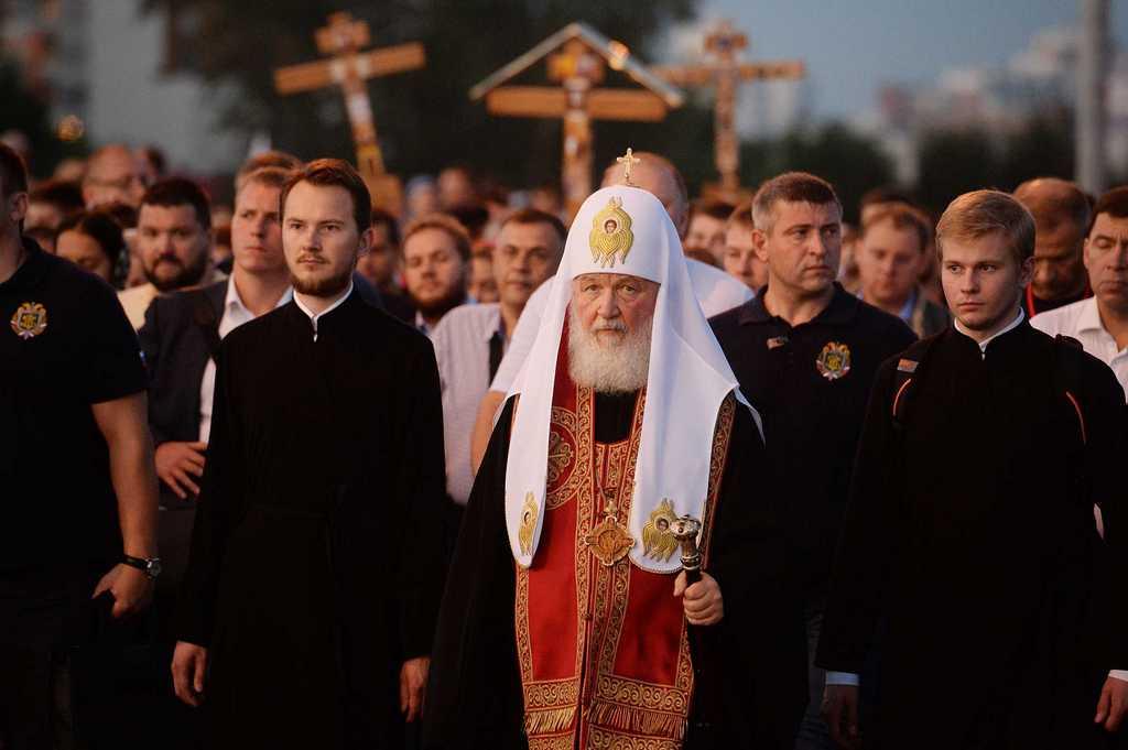 Крестный бег в Екатеринбурге…