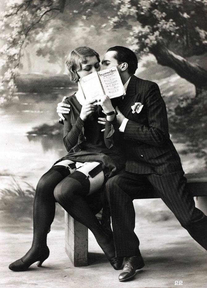 Какой была эротика в начале ХХ века! ))