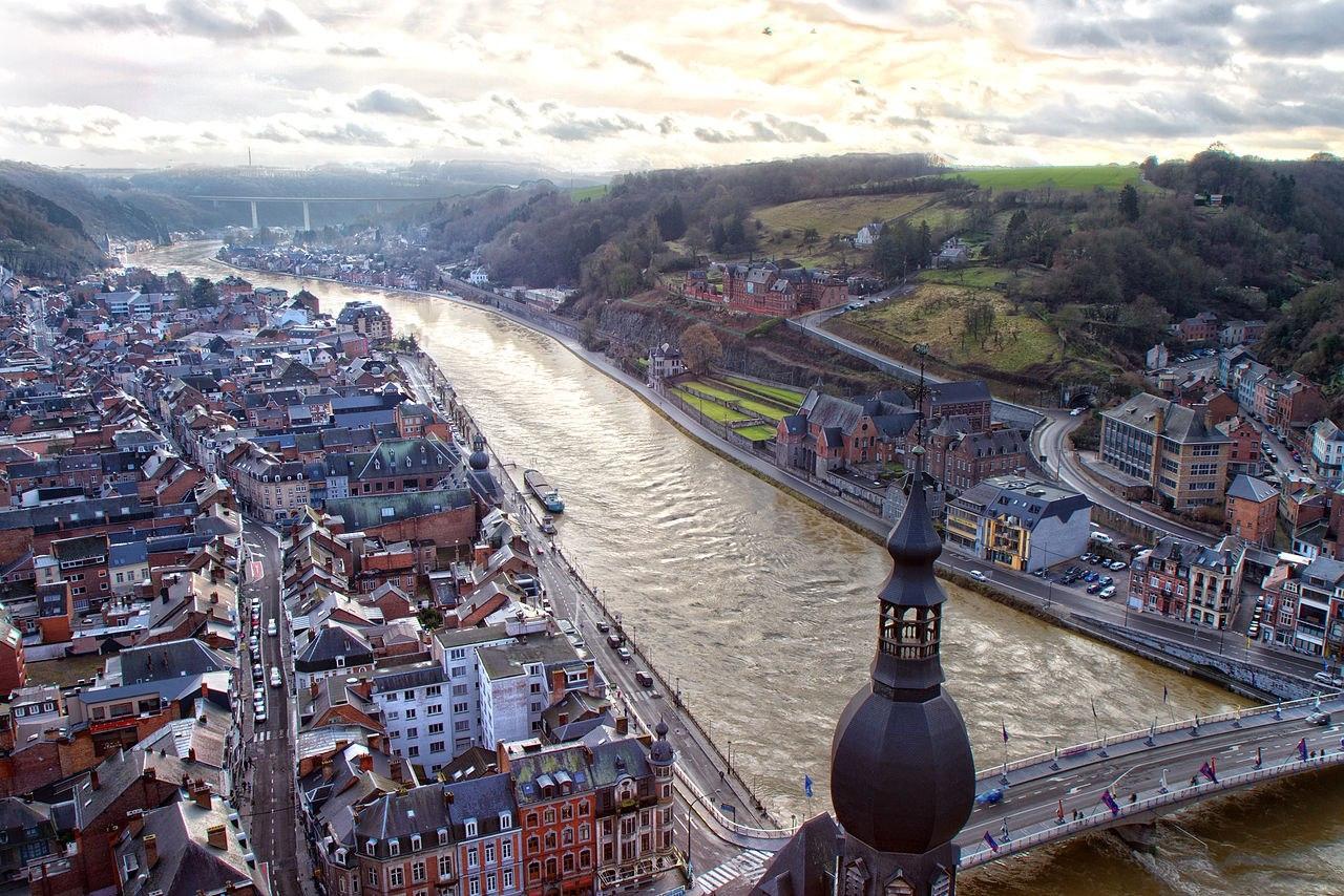 Романтичный Динан в Бельгии