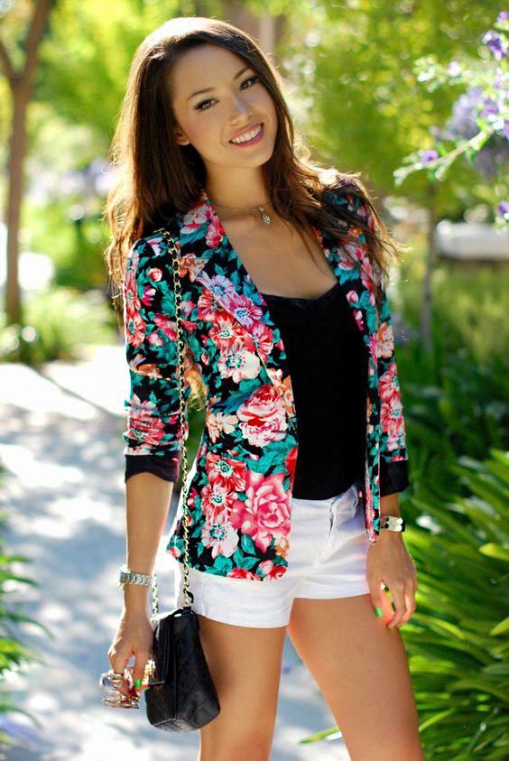 Как правильно сочетать шорты с пиджаком: потрясающих идей для лета