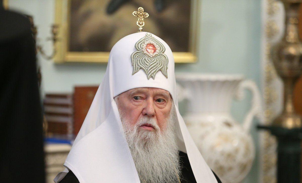 Украинский раскольник Филарет назвал православных прихожан пятой колонной