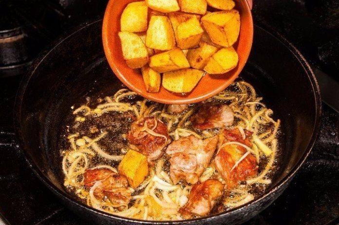 Оджахури — грузинское блюдо …