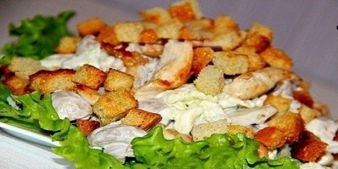 Мой любимый салат с куриной грудкой и грибами. Всегда готовлю на праздники!