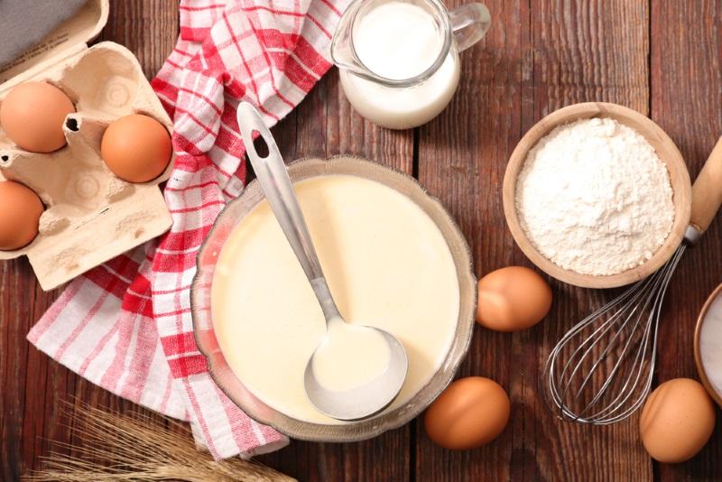Рецепт тонких блинов на кефире