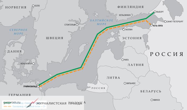 СМИ: США шантажируют Европу санкциями за участие в «Северном потоке-2»