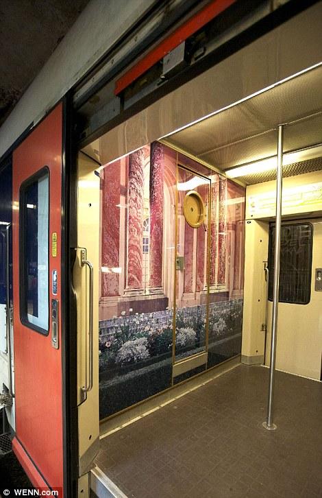 Paris commuter train 12 Версаль в электричке