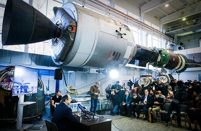 В «Роскосмосе» назвали возможные причины аварии «Союза»