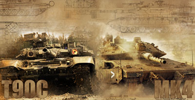 Т-90С против «Меркавы»
