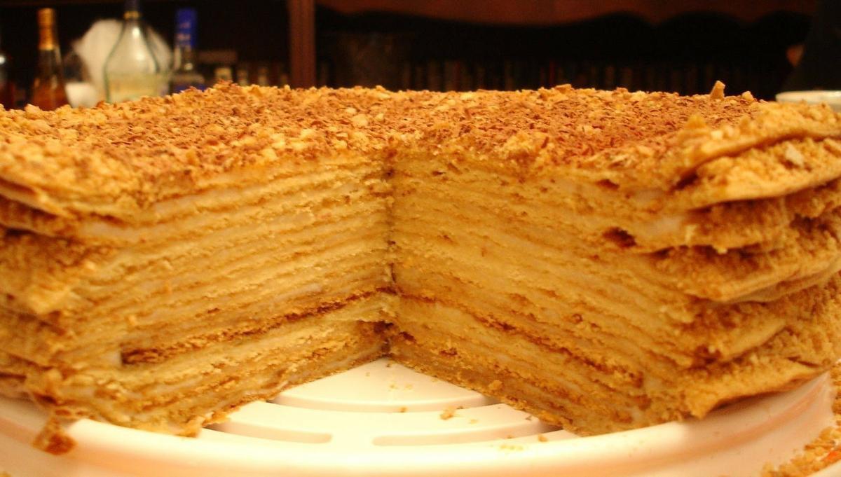 Торт медовый по рецепту моей бабушки