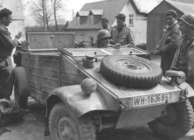 """Немецкий верблюд"" - Volkswagen Type 82"
