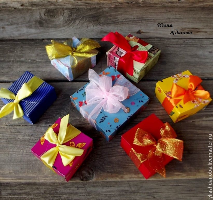 Делаем своими руками подарочную коробочку всего за 3 минуты