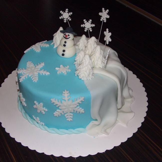 Самые очаровательные зимние тортики — волшебный десерт