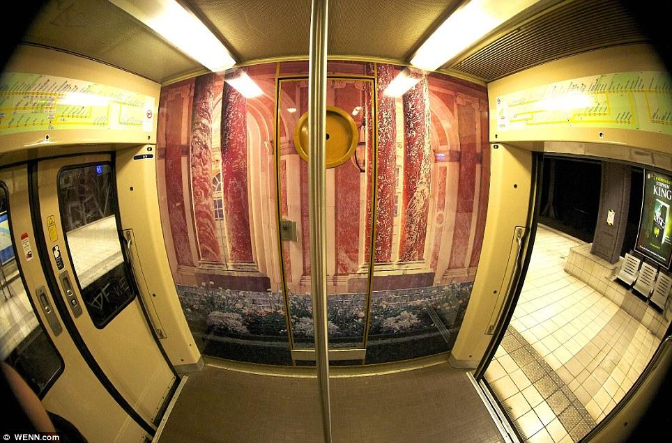 Paris commuter train 11 Версаль в электричке