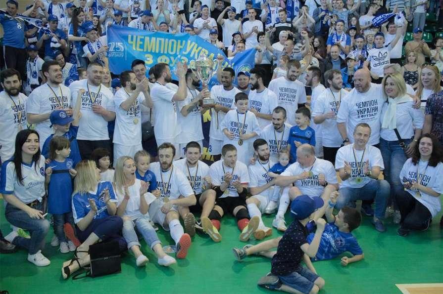 Чемпион Украины «Продэксим» …