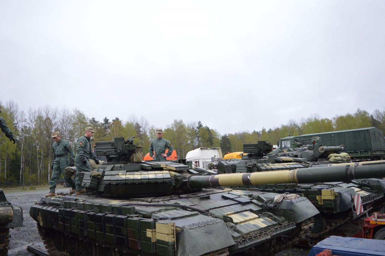 Модернизация украинских танков Т-64БВ для участия в соревнованиях Strong Europe Tank Challenge