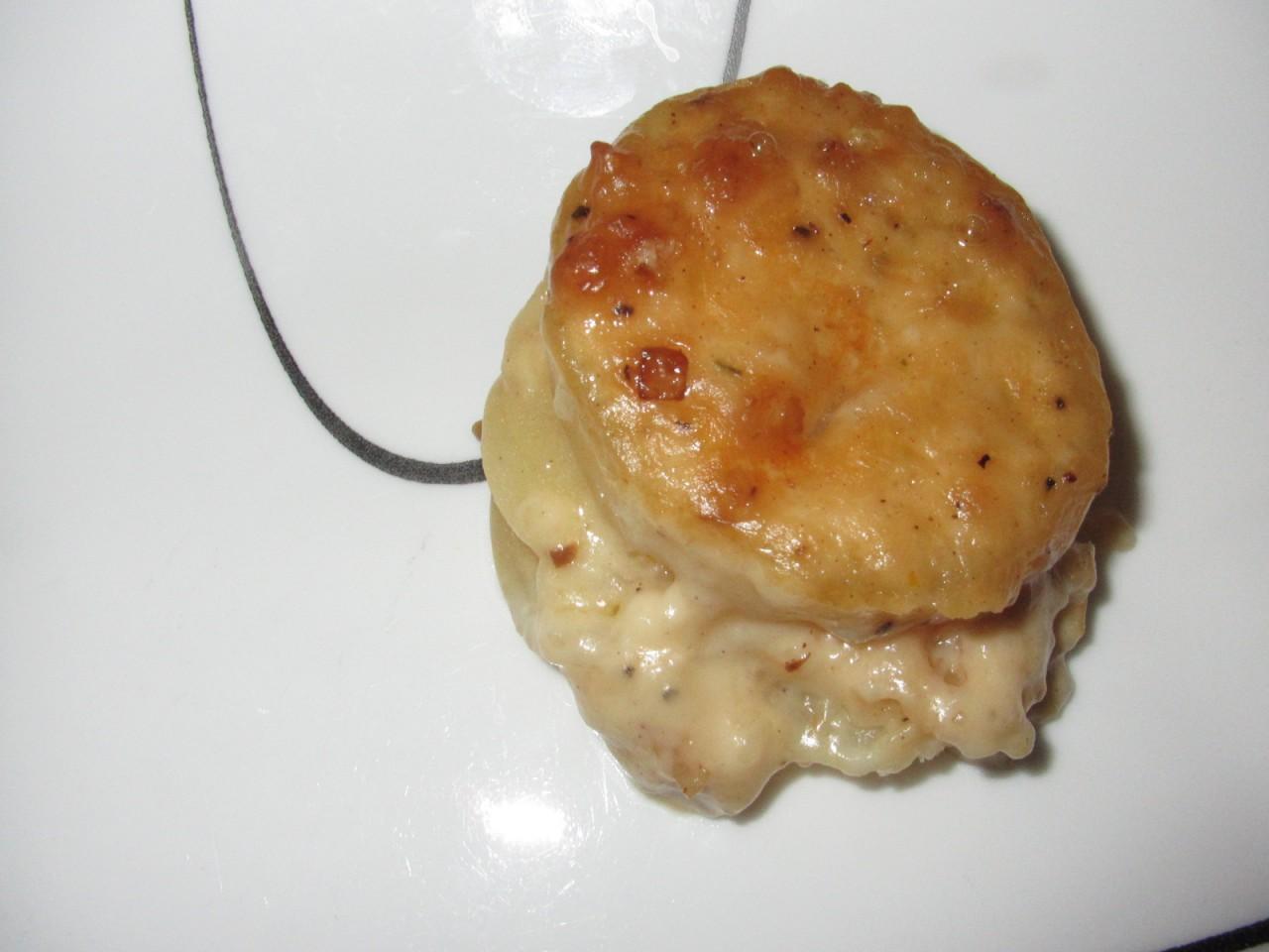 Классическая Scalloped картошка
