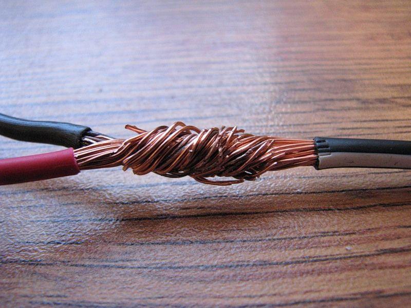 Скручивание проводов