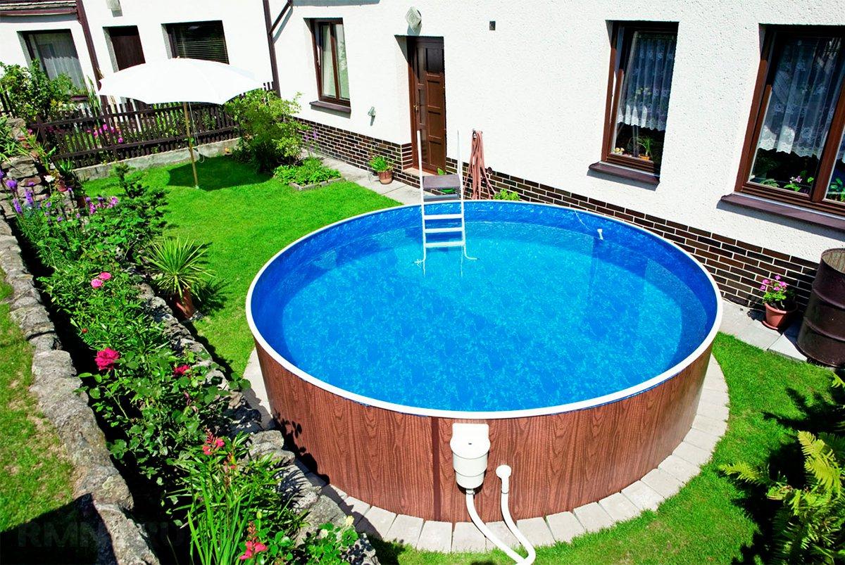 Как сделать бассейн на даче недорого