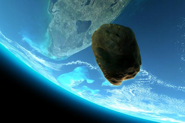 Опасный астероид приблизится…