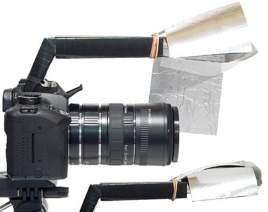 Рассеиватель на камере