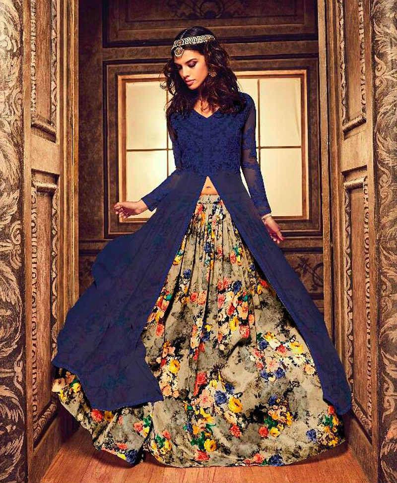 Красивые платья в индийском стиле — достойные богинь, фото № 2