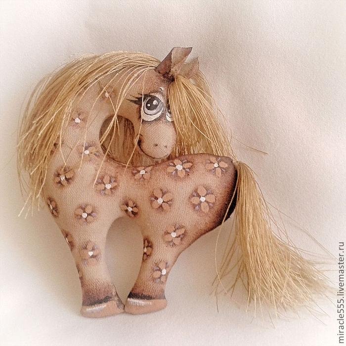 Ещё одна кофейная лошадка, гламурная)))