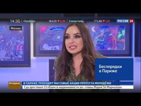 Когда тебе поручили взять интервью у дочки президента Азербайджана, а она говорит примерно так же как рисует