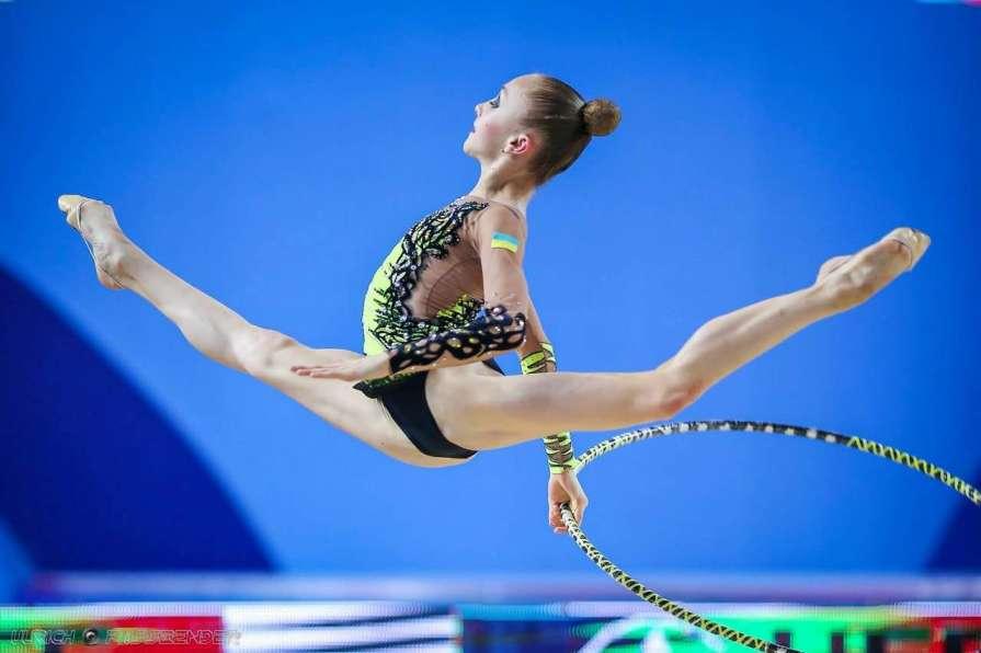Украинские гимнастки удачно …