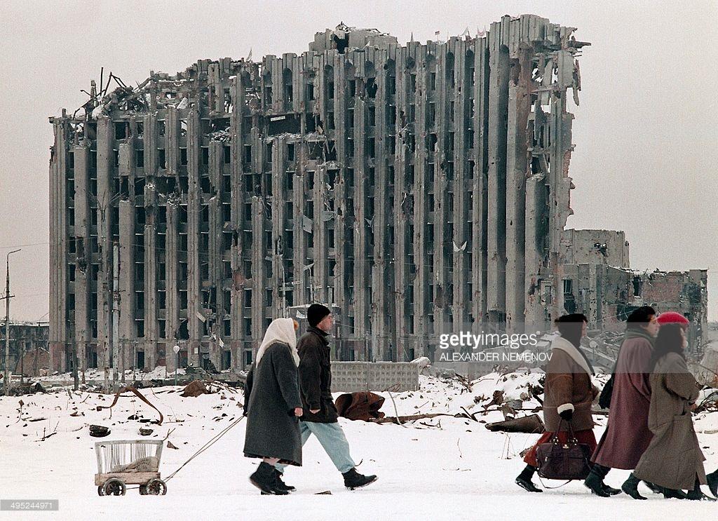 Неизвестные фото войны в Чечне.