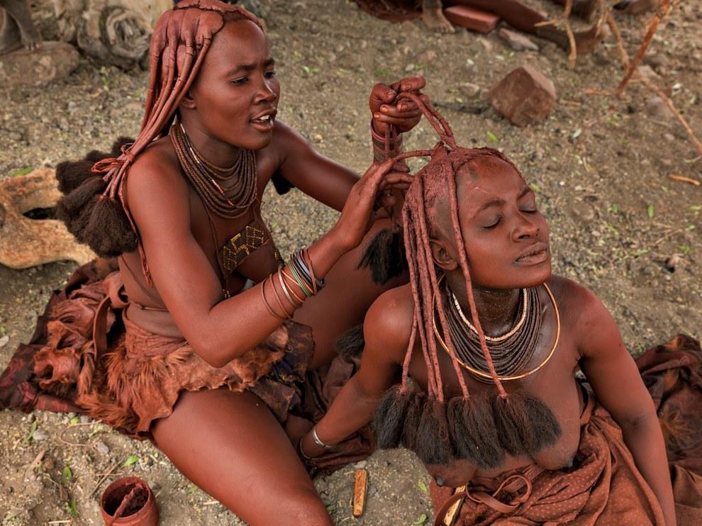Девушки химба, Намибия