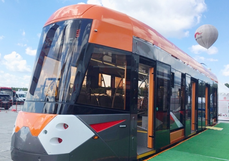 Совершенно секретно: в России появился уникальный трамвай со специальными возможностями