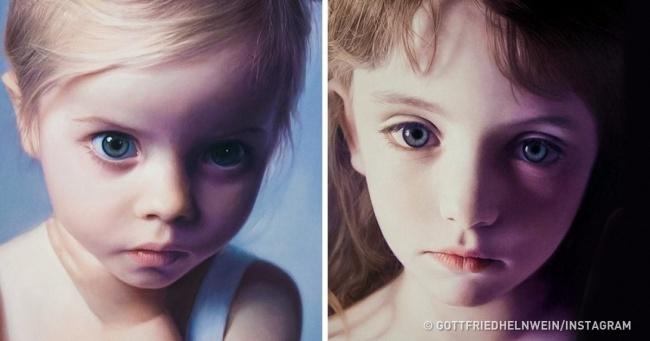 Портреты девочек пробирают совсем не по-детски