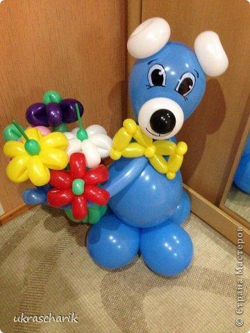 Мастер класс мишки из воздушных шаров