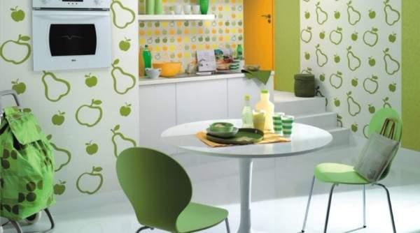 Моющиеся обои для кухни: практичность и эстетичность (70 фото)