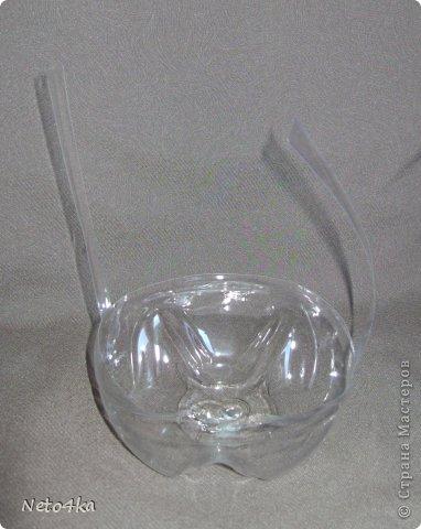 Мастер-класс День учителя Моделирование конструирование Небольшая основа для букета из бутылки ПЭТ Бутылки пластиковые Клей Салфетки фото 20