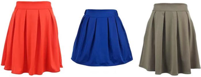 Шъём юбку с мягкими бантовыми складками