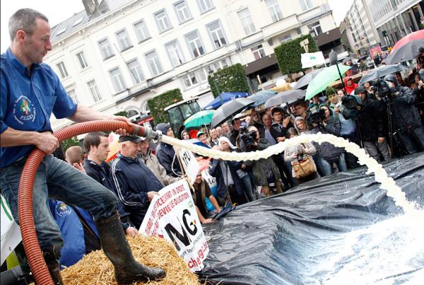 Литва столкнулась снехваткой молока— закупать приходится усоседей